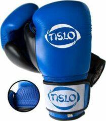 Blauwe Bokshandschoenen ECHT leer Tislo 12 Oz Air