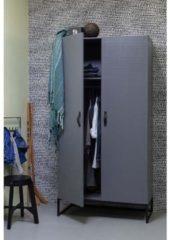 WOOOD Kledingkast 'Morris' 195 x 100cm, kleur Leem