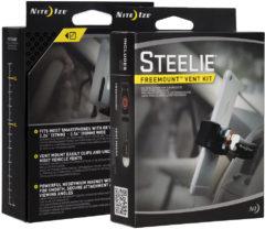 NITE Ize Steelie FreeMount Vent Kit Ventilatierooster Telefoonhouder voor in de auto 360° draaibaar 57 - 90 mm