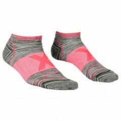 Ortovox - Women's Alpinist Low Socks - Multifunctionele sokken maat 42-44, grijs/roze