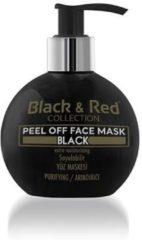 Zwarte Black&Red Gezichtsmasker Black & Red Black Mask 250ml