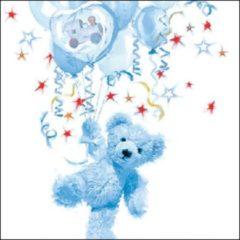 Massamarkt Ambiente Servet 33cm Teddy Blue