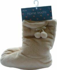Inter socks HUIS SLOFFEN - ANTI-SLIP - beige - maat 36-38 - extra zacht