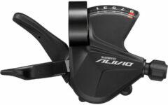 Zwarte Shimano M3100 Alivio versteller - Verstellers & shifters