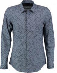 Blauwe Antony morato slim fit overhemd valt kleiner - Maat S