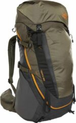 Groene The North Face Terra Backpack 55L - Maat L/XL - TNF Dark Grey Heather / New Taupe Green