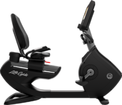 Life Fitness Platinum Discover SE3HD Ligfiets - Titanium Storm