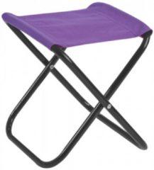 Paarse JY&K Mini kruk | Paars | Campingstoel klein | Krukje | Vissers stoel | Visserij kruk | Kamperen kids