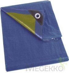 Blauwe Perel Dekzeil Blauw/Kaki - Standaard - 3 X 4 M