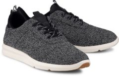 Sneaker Cabrillo von Toms in schwarz für Damen. Gr. 36,37,38,39,40,41,42