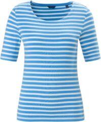 Shirt ronde hals en korte mouwen Van GANT blauw