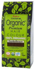 Donkerbruine Radico Colour Me Organic Dark Brown 100% Natuurlijke Haarverf 100 g