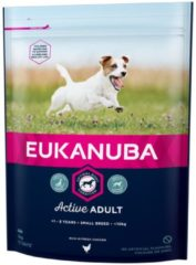 EUKANUBA DOG ADULT SMALL BREED CHICKEN HONDENVOER #95; 3 KG