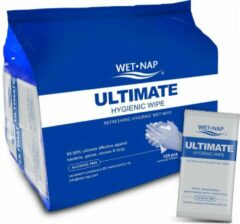 Zilveren Wet-Nap ULTIMATE 125 pcs
