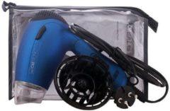 Blauwe Quadra Clatronic HTD3429 Reisföhn inclusief Diffuser