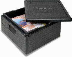 Zwarte Thermo Future Box Pizza XL thermobox 42x42x20 cm