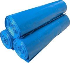 Van Der Windt | Afvalzak T25 | HDPE | Blauw | 80 x 110 cm | Doos 300 stuks