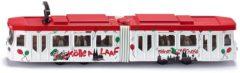 Rode Siku tram rood/oranje (1615)
