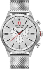Zilveren Swiss Military Hanowa watches chronograaf herenhorloge Chrono Classic II 06-3332.04.001