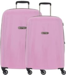 Rosa Epic GTO EX 4-Rollen Trolley Kofferset 2tlg. glossPINK