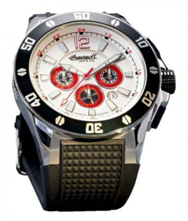 Afbeelding van Ingersoll Brazos IN3221WH Heren Horloge