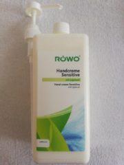 Röwo Handcreme Sensitive met Jojobaolie 1000ml