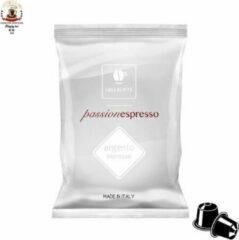Lollo Caffè - Italiaanse espresso ARGENTO, 100 koffie capsules geschikt voor nespresso
