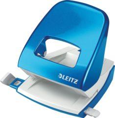 Leitz 50082036 Bureauperforator Blauw (metallic) (b x h x d) 107 x 100 x 137 mm