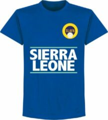 Merkloos / Sans marque Sierra Leone Team T-Shirt - Blauw - XXXL