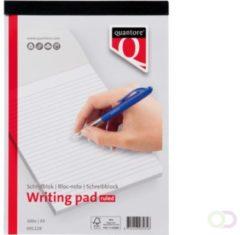 Witte SCHRIJFBLOK QUANTORE BASIC A4 GELIJND 5 Stuks