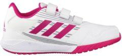 Rosa Laufschuhe AltaRun CF K mit Zehenkappe BA7427 adidas performance ftwr white/bold pink/mid grey s14