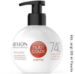 Revlon Professional Haarpflege Nutri Color Creme 740 Helles Kupfer 50 ml