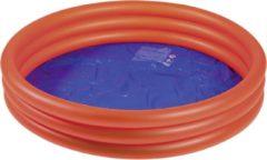 Wehncke opblaaszwembad junior 122 x 23 cm PVC rood/blauw