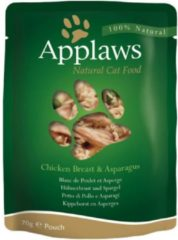 Applaws Cat - Chicken Breast & Asparagus in Broth - 12 x 70 g