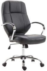 Vinsetto Bürostuhl Ergonomisch Chefsessel Kunstleder 58 x 68 x 108-117cm Drehstuhl Chefsessel Büro-möbel Büro-sessel