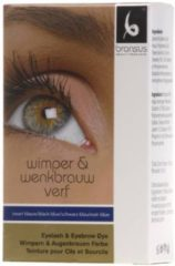 Blauwe BRANSUS Wimper / Wenkbrauwverf - Blue/Black