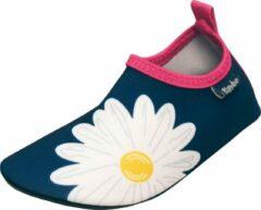 Playshoes - Kid's UV-Schutz Barfuß-Schuh Margerite - Watersportschoenen maat 20/21, blauw/wit
