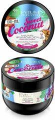Eveline Cosmetics EVELINE Food For Hair maska do włosów normalnych i cienkich nawilżenie i połysk Kokos 500ml