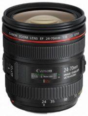 Zwarte Canon EF 24-70 mm - f/4L IS USM