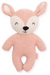 Roze Jollein Deer pale pink knuffel 23 cm