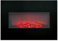 Classic Fire Memphis sfeerhaard - elektrisch - opbouw - 1800 W - LED - afstandsbediening - timer - zwart
