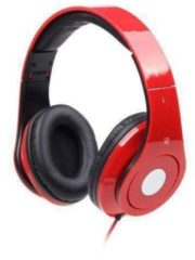 Gembird Detroit Koptelefoon On Ear Vouwbaar, Headset Rood