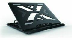 Conceptronic ERGO Laptop Cooling Stand 39,6 cm (15.6 ) Notebookstandaard Zwart
