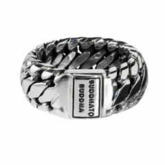 Buddha to Buddha 542 Ring Ben Small Maat 17 zilver