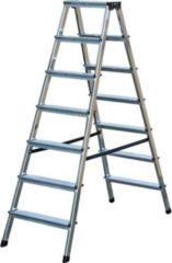 Krause Stufen-DoppelLeiter Dopplo 2 x 7 Stufen