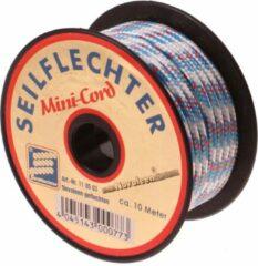 Witte Seilflechter Mini koord Polyester, 3mm, 10m, assorti, 380 daN