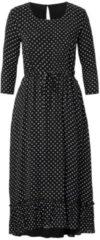 REKEN MAAR Kleid, in Midi-Länge mit Punkte Druck, Viskose
