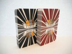 GSB genderneutrale speelkaarten - Sunrays - dubbelpak in plastic doos