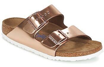 Afbeelding van Bronze Birkenstock - Arizona - Sportieve slippers - Dames - Maat 35 - Brons - Metallic Copper LE