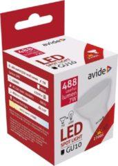 Avide LED Spot Alu+plastic 7W GU10 110° EW 2700K